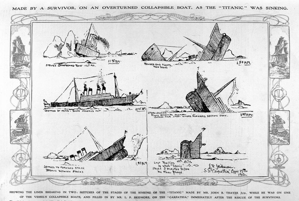 Sketsa Titanic Tenggelamjpgjpeg The Signs